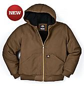 Kids' Sanded Duck Hooded Jacket, 8-20