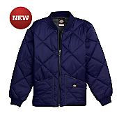 Boys' Quilted Nylon Jacket