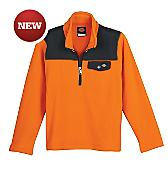 Boys' Quarter Zip Performance Fleece