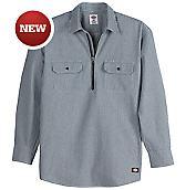 Long Sleeve Half Zip Logger Shirt