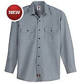 Long Sleeve Button-Front Logger Shirt
