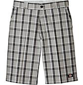 "13"" Regular Fit Multi-Use Pocket Plaid Short"