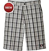 """13"""" Regular Fit Multi-Use Pocket Plaid Short"""