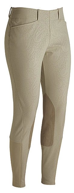 Ariat Ladies Pro Circuit Low Rise Embossed Riding Breeches Best Price