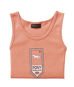 Ariat Girls Pony Ribbon Tank Top Picture