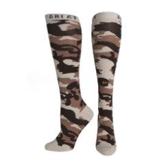 Ariat Ladies Brown Camo Knee High Socks Best Price
