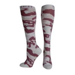 Ariat Ladies Pink Camo Knee High Socks Best Price