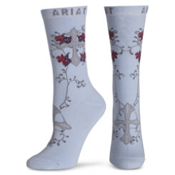 Ariat Ladies Iris Iron Thorn Ankle Socks Best Price