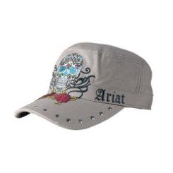Ariat Ladies Tan Day of the Dead Military Cap Best Price
