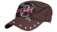 Ariat Ladies Brown Tribal Logo Cap Best Price