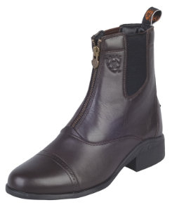 Ariat Ladies Heritage III Zip Chocolate Paddock Boots Best Price