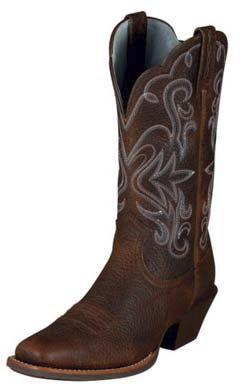 Ariat Ladies Legend Oiled Rowdy Western Boot Best Price