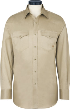 Ariat Men's Twill Western Snap Shirt Best Price