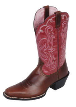 Ariat Ladies Legend Mesa Brown Western Boot Best Price