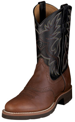 Ariat Mens Heritage Crepe Western Boot