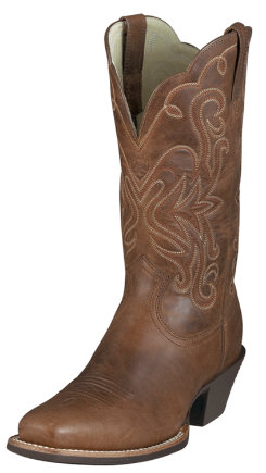 Ariat Ladies Legend Russet Rebel Western Boots Best Price