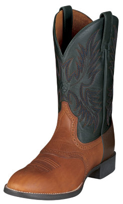 Ariat Mens Heritage Stockman Wesetrn Boots Best Price
