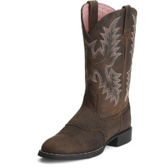 Ariat Ladies Heritage Stockman Western Boots Best Price