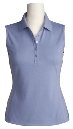 Ariat Ladies Sleeveless Prix Polo Shirt - 2010