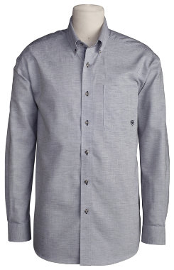 Ariat Mens Oxford Long Sleeved Shirt Best Price
