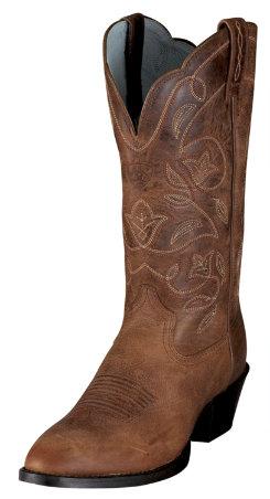 Ariat Ladies Heritage Western Round Toe Boots Best Price