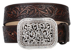 Ariat Ladies Rhinestone Fillagree Belt Best Price