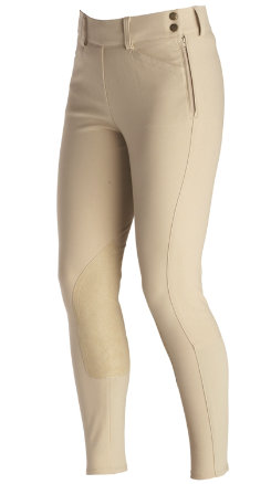 Ariat Ladies Oympia Side Zip Riding Breeches Best Price
