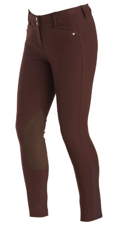 Ariat Ladies Heritage Low Rise Front Zip Riding Breeches Best Price
