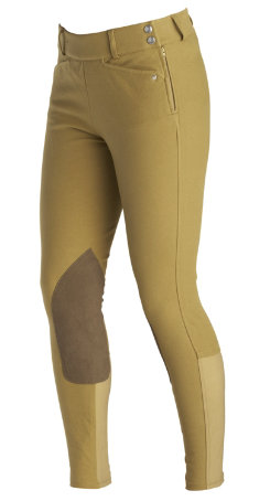 Ariat Ladies Heritage Low Rise Side Zip Riding Breeches Best Price