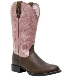 Ariat Ladies Heritage Horseman Western Boot Best Price