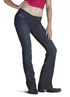 Ariat Ladies Ruby Denim Jeans Best Price