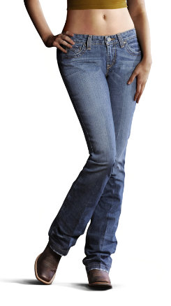 Ariat Ladies Amber Denim Jeans Best Price
