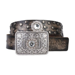 Ariat Ladies Bronze Rhinestone Belt Best Price