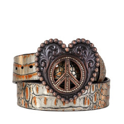 Ariat Ladies Luxe Western Belt Best Price