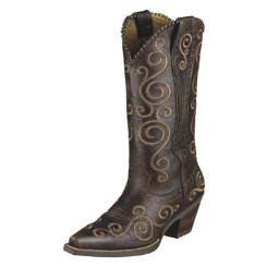 AT Lds Port Brown Shelleen Wstn Boot Best Price