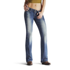 AT Lds Amber Stretch Btcut Jeans-Brash Best Price