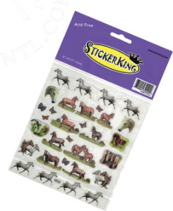 AWST Horse And Butterfly Stickers