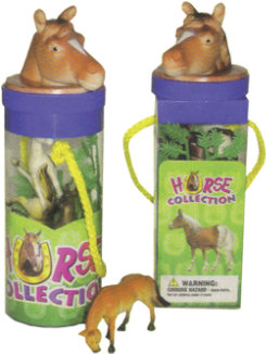 AWST Toy Horse Collection Tubes