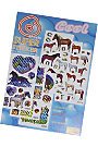 AWST Six Sheet Horse Sticker Set