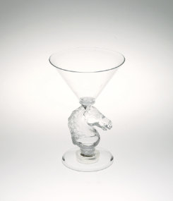 AWST Horse Head Light Up Martini Glass