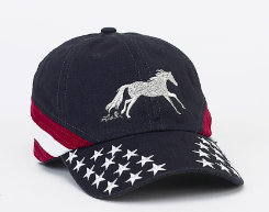 AWST Galloping Horse Adult Ball Cap