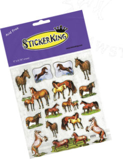 AWST Horse Stickers