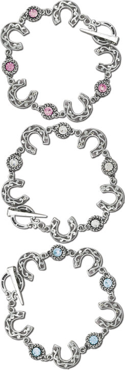 AWST Horseshoe Toggle Bracelet