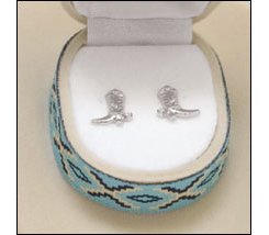 AWST Cowboy Hat Gift Box Earrings Best Price
