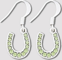 AWST Horseshoe Dangle Earrings