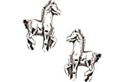 AWST Sterling Silver Mini Foal Post Earrings Best Price