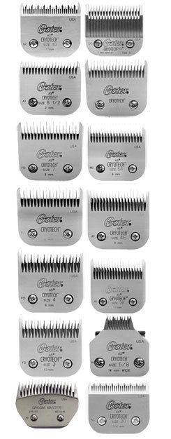Oster A5 Replacement Clipper Blades
