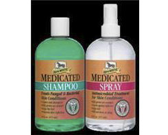 Absorbine Medicated Shampoo and Spray Twinpack