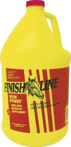 Finish Line Iron Power Liquid Horse Supplement Best Price