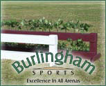 Burlingham Sports Brush Box with Flowers